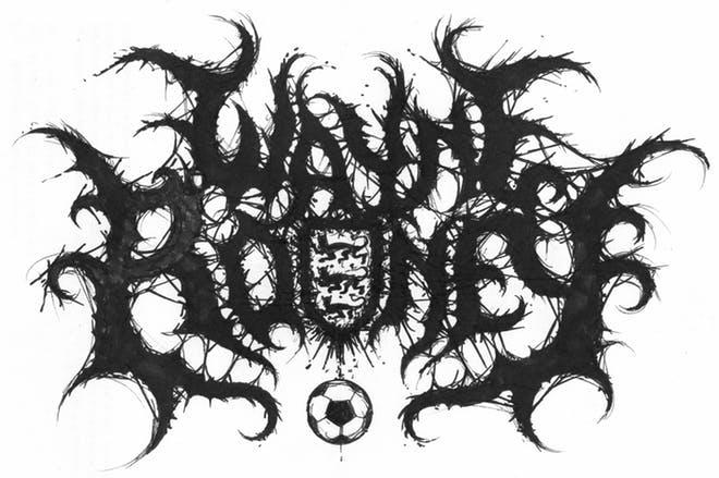Metal logo Wayne Rooney