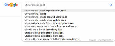 why are metalband logos hard to read