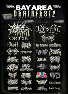 Flyer metal logos