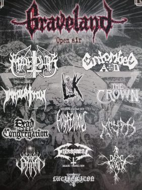 flyer Graveland Open Air